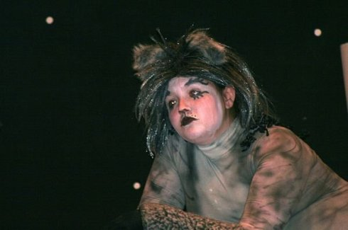 This is me in the musical CATS! Fall 2008